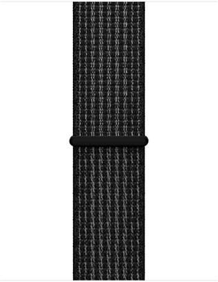 Apple 38mm Black/Pure Platinum NikeSportLoop