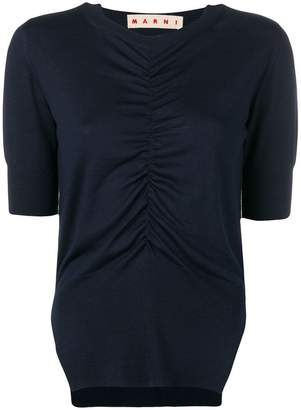 Marni ruched blouse
