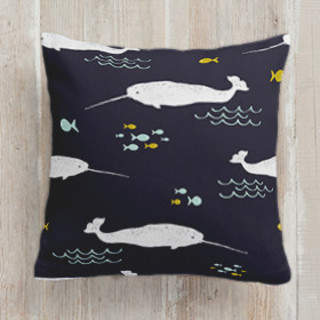 Sea Life Square Pillow