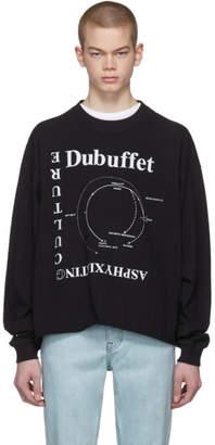 Enfants Riches Deprimes Black Long Sleeve Asphyxiating Culture T-Shirt