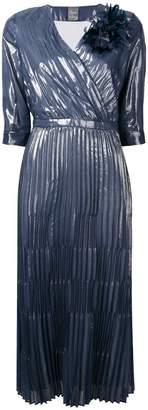 Lorena Antoniazzi plisse midi dress