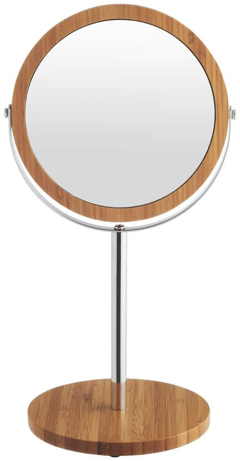 Anya Natural bamboo shaving mirror