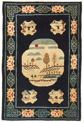 """ABC Home Vintage Chinese Wool Rug - 3'3""""x4'11"""""""