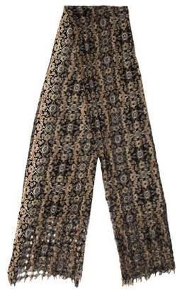 Epice Wool Printed Scarf