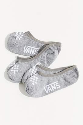 Vans Heathered No-Show Liner Sock 3-Pack