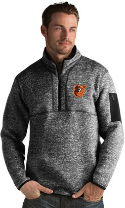 Antigua Men's Baltimore Orioles Fortune Pullover