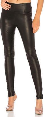 GETTINGBACKTOSQUAREONE Iconic Leather Legging