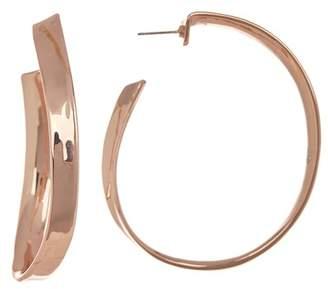 Robert Lee Morris Organic Large 58mm Hooop Earrings