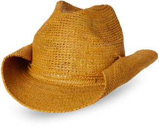 mar y sol Rose Straw Cowboy Hat $109 thestylecure.com