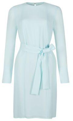 Hugo Boss Danysa 1 Shift Dress 0 Green $625 thestylecure.com