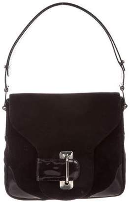Barbara Bui Suede Shoulder Bag