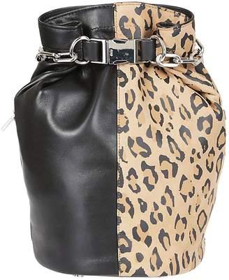 Alexander Wang Animal Print Bucket Bag