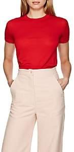 Katharine Hamnett Women's Elsa Wool-Cashmere T-Shirt - Red
