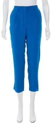 Jenni Kayne Silk Mid-Rise Pants