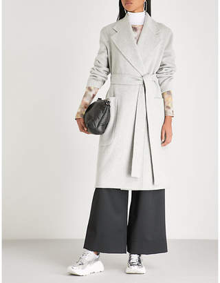 Acne Studios Carice wool and cashmere blend wrap coat