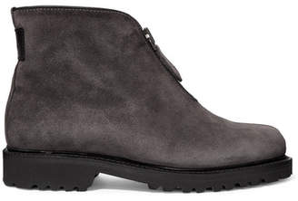 Ludwig Reiter Après Ski Shearling-lined Suede Ankle Boots - Gray