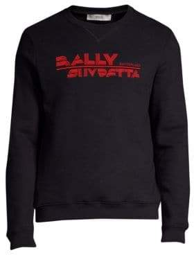 Bally Logo Embroidery Sweatshirt
