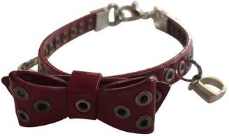 Christian Dior Leather bracelet