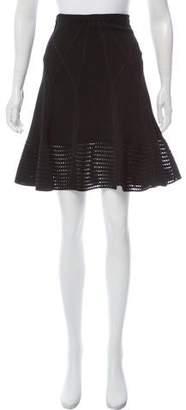 Diane von Furstenberg Flared Knit Skirt