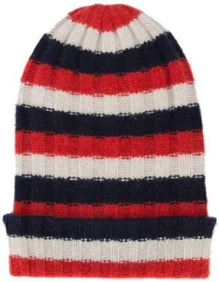 The Elder Statesman striped beanie