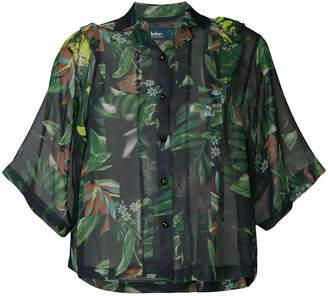 Kolor tropical print shirt