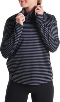 OISELLE Big Stripe Mockneck Pullover