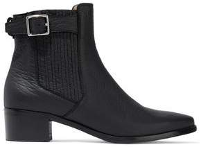 Belstaff Albaz Textured-Leather Ankle Boots
