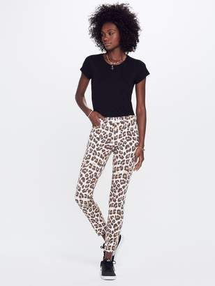Mother High Waisted Looker Ankle Fray - Touch Of The Tiger