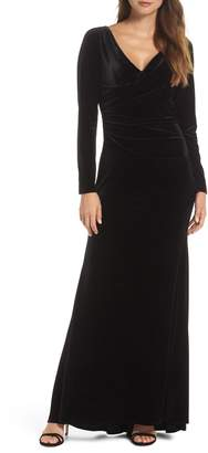 Vince Camuto Velvet Gown