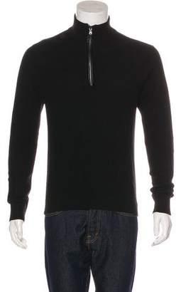 Michael Kors Knit Half-Zip Sweater