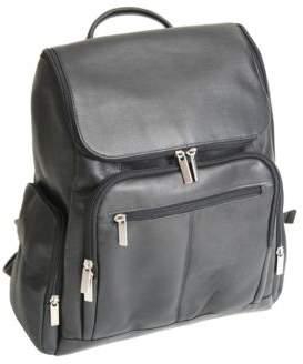 ROYCE New York Handcrafted Laptop Backpack with Top Handle