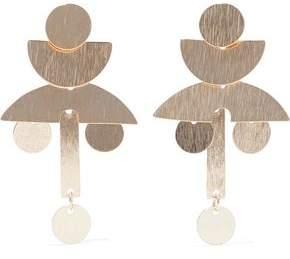 Iris & Ink Victoria 18-Karat Gold-Plated Sterling Silver Earrings