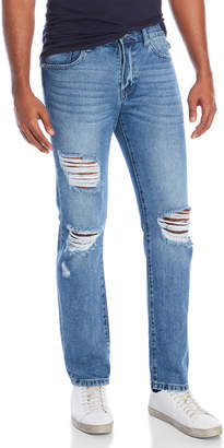 Earnest Sewn Barclay Distressed Jeans