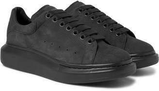 Alexander McQueen Exaggerated-Sole Suede Sneakers