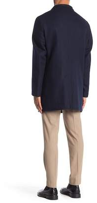 Calvin Klein Hidden Front Button Coat