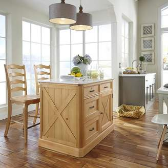 Home Styles Country Lodge Kitchen Island Set