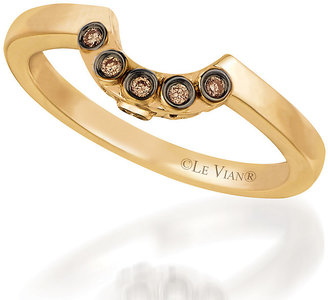 Le Vian 14ct Strawberry Gold Chocolate Diamond ring