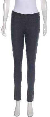 Brunello Cucinelli Wool Mid-Rise Leggings