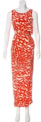 Thakoon Abstract Print Maxi Dress