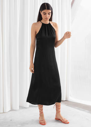 And other stories Gathered Halter Dress