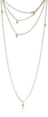 GUESS Women's Necklace ubn80102 – Metal – Rhinestones Gold – 90 cm