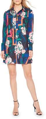 Parker Norma Floral Print Shirtdress