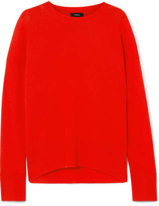 Theory Karenia Cashmere Sweater - Red