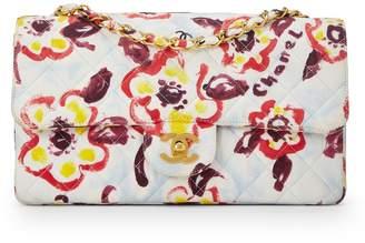 1e1e2794248960 Chanel Multicolor Floral Cotton Classic Flap Medium