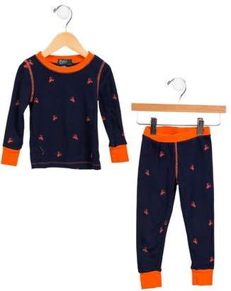 Polo Ralph Lauren Boys' Lobster Print Pajama Set