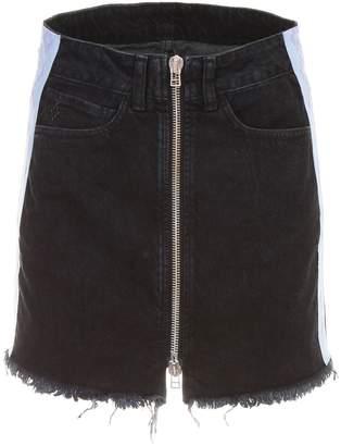 Marcelo Burlon County of Milan Denim Skirt