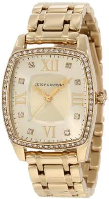 Juicy Couture Women's 'Beau' Quartz Tone and Gold Plated Casual Watch(Model: 1900974)