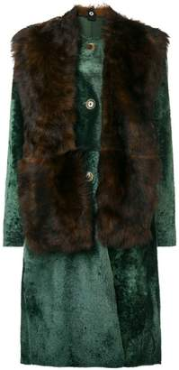 Sofie D'hoore Lust fur coat