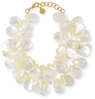 Mother of Pearl NEST Jewelry Mother-of-Pearl Cluster Necklace