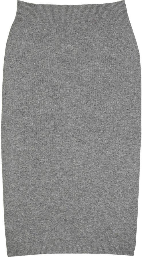 Marc Jacobs Cashmere blend pencil skirt